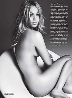 Wow, Kaley Cuoco, well done!
