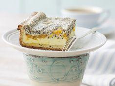 Mohn-Käsekuchen mit Mandarinen | Zeit: 20 Min. |http://eatsmarter.de/rezepte/mohn-kaesekuchen-mit-mandarinen
