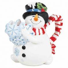 I love all things snowmen