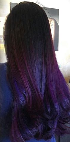 Black berry hair color