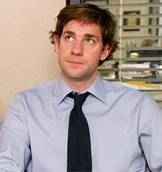 And chuckled adorably like this. | 34 Times John Krasinski Was The Most Perfect Man Alive