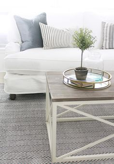 12th and White: 5 Tips for Refreshing a Room on a Budget (Hearth Room Reveal)