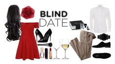 """Blind Date"" by chicclo on Polyvore featuring Marc Jacobs, Gucci, Dolce&Gabbana, River Island, Chanel, Accessorize, Ralph Lauren, Alessandro Dell'Acqua, Christian Dior and Movado"