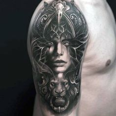 3d-window-female-portrait-creative-half-sleeve-shaded-tattoos-for-men