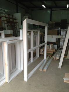 Construction des châssis des fenêtres