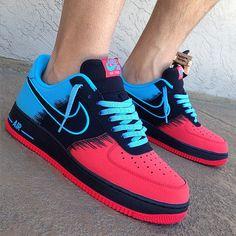 Nike Air Force 1 spiderman sneaker