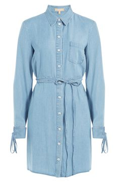 Denim Shirtdress detail 0