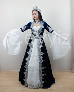 Ceyyiz.com | Çeyiz İç Giyim Evlilik Alışveriş Sitesi ~ 5 Parça Kaftan Bindallı Kına Elbisesi Mira