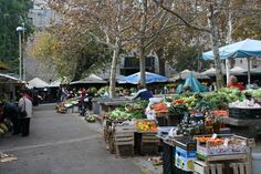 Outdoor market.   Split, Croatia