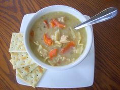 Flavors by Four: Old Fashioned Chicken Noodle Soup