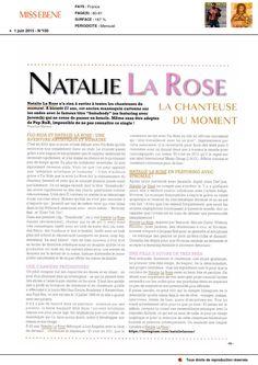Natalie La Rose dans Miss Ébène du 1er Juin 2015 (2)