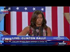 AFRICAN AMERICAN REPORTS: Full Speech: Michelle Obama campaigns for Hillary…