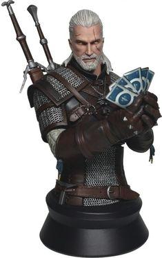 The Witcher 3: Wild Hunt Geralt Playing Gwent Bust (Merchandise) kopen - Nedgame