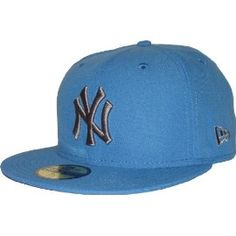 New Era 59Fifty Seasonal Contrast NY Yankees AFBlue/Grey Cap