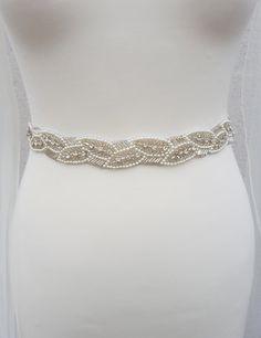 Bridal belt, All around, beaded belt, pearl bridal belt, wedding dress belt, wedding belt, pearl belt, wedding belts and sashes, diamante belt, crystal trim, Rhinestone belt, bridal trim, sash belt