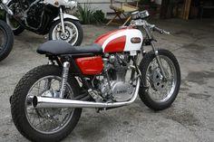 1970 Yamaha XS650 Full Fairing Race Street Bike Cafe Racer