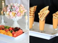 coco chanel baby shower food ideas