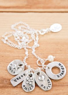 hand holder. dream soother. love giver.    I want one of these necklaces!