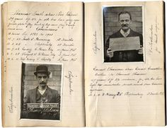 Rogues' gallery compiled by Manchester police officer 100 years ago goes on   sale.