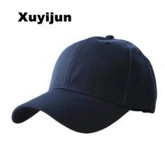 c6498a39933 Xuyijun Durable 2018 New Masculino Snapback Casquette Gorras Blank Curved  Solid Color Adjustable Baseball Cap Bone dad Caps