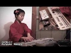 Japanese Techno Girl Love TR-727 & TR-707 & TB-303 - YouTube | Zephos pointed out she does the rituals of a formal Japanese tea ceremony at the beginning.