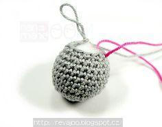 handmadeROOM: háčkovaná gulička, priemer cca 3cm