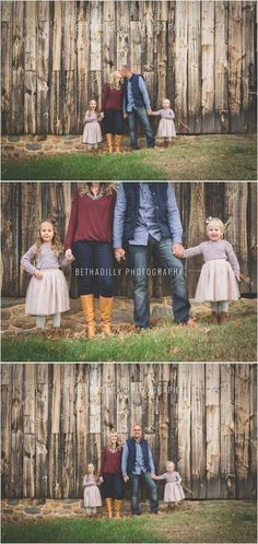 these sweet little sisters were ready to rock their autumn family session from the moment the stepped on location.