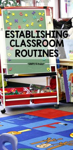 It is so important to establish classroom routines at the beginning of the school year. This list of routines helps me know what I need to teach my students when they come to my classroom at the beginning of the school year.