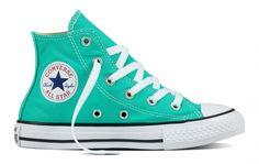 Converse Kids Chuck Taylor All Star Seasonal Hi Top Menta