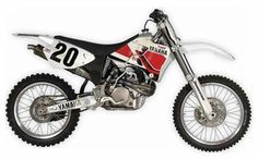Retrospective: 20 Years of Yamaha YZ Four-Stroke MXers Yamaha introduced the four-stroke motocross machine 20 years ago. Here's a look back at the generations of YZs that lead to the 2018 Motocross, Dirtbikes, Classic Bikes, Bike Design, 20 Years, Yamaha, Motorcycle, Vehicles, Vintage