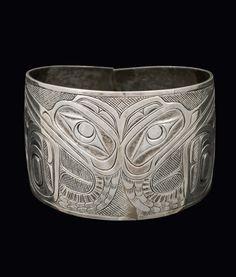 Cormorant Bracelet, late 19th century « Charles Edenshaw