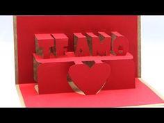 como hacer un corazon de origami 3d (parte3) - YouTube