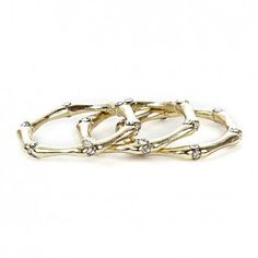 Bamboo gold stackers
