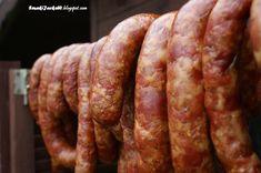 Domowy wyrób. Coś do chleba i talerza.: Kiełbasa małopolsko-podlaska J&W. Kielbasa, Sausage, Meat, Food, Sausages, Essen, Meals, Yemek, Eten