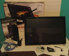 Buy it now only $425 Monoprice 19-Inch Interactive Pen Display Monitor - Bundle #Monoprice