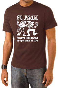 COOLES ST. PAULI BRIGHT SIDE OF LIFE HAMBURG T-SHIRT AUS LIEBE ZUR HAFENSTADT!