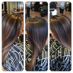 Bayalage #wella #btc #hair painting #hair #brunette