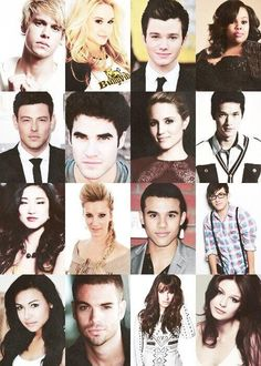 Glee cast S4. Thanks to my sister and best friend for getting me hooked on this show lol