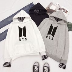 Browse the latest collection of bts official merchandise hoodies and jackets online. We have the great selection of BTS Hoodies & Jackets available at affordable prices. Hoody Kpop, Bts Hoodie, Bts Shirt, Hoodie Outfit, Sweater Hoodie, Kpop Outfits, Korean Outfits, Cute Outfits, Camisa Bts