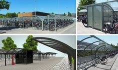 Falco heeft een groot gedeelte van de terreininrichting mogen verzorgen van het vernieuwde Amphia ziekenhuis in Breda. In totaal zijn er tientallen FalcoGamma overkappingen geplaatst en diverse fietsparkeersystemen voor verschillende fietsen.