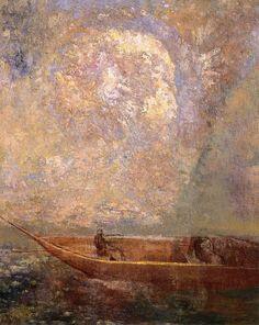 Odilon Redon, The Boat (1901)