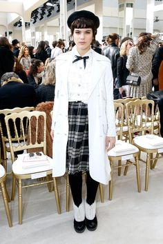 Meet Soko, the French Musician Who Rocked the Front Row at Paris Fashion Week