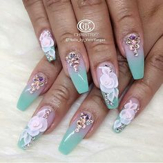 Nail art designs, see the super best nail post guide # 3564331737 for that amazingly pretty nails. Beautiful Nail Designs, Beautiful Nail Art, Gorgeous Nails, 3d Acrylic Nails, 3d Nail Art, Pastel Nails, Short Nail Designs, Cute Nail Designs, Hot Nails