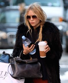 Coffee on the go when you have sh*t to do and so many various things to carry: MK #boss
