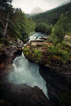 travelingcolors:  Gudbrandsjuvet, Valldola River | Norway (by Jonas Lang) #poler #polerstuff #campvibes