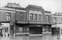 The former 1,200 Grand Cinema in the Dublin suburb of Drumcondra opened on 19th August 1934. It closed on 24th March 1968. Converted into a supermarket with the total loss of its original street facade.
