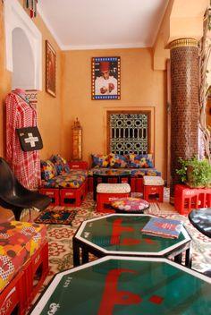 Hassan Hajjaj, Tea Room marrakech