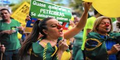 "Top News: ""BRAZIL: Petrobras Corruption Scandal: Lawmakers Plot To Pardon Corrupt Officials"" - http://politicoscope.com/wp-content/uploads/2016/08/Petrobras-Scandal-Brazilians-On-War-On-Corruption-Brazil-Headline-News-790x395.jpg - As the Senate voted to suspend President Dilma Rousseff, a shocking 58 percent of the chamber was at that moment under investigation for corruption.  on Politicoscope - http://politicoscope.com/2016/08/16/brazil-petrobras-corruption-scandal-lawmake"