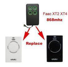 2pcs Faac Xt2 Xt4 868slh Compatible Garage Door Remote Control 868mhz China