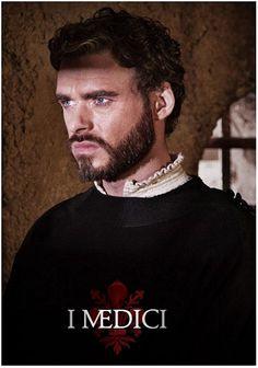 Cosimo Medici played by Richard Madden
